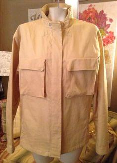 Auth Giorgio Armani Black Label Cotton Spandex Coat Jacket Size 48 12   eBay