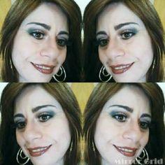 Adriana Lobrito Makeup e Dicas de Beleza!: Maquiagem Tons Marrons!