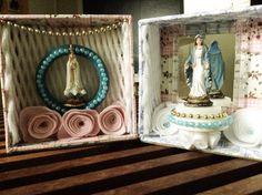 Nossa Senhora de Fátima e Nossa Senhora das Graças