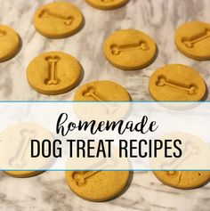 We believe that homemade dog treat recipes don't have to be filled with junk food and crappy ingredients. Our dog-friendly recipes are made with the good things you WANT your dog to eat and prepared in the convenience of your own kitchen. Since you know exactly what goes into them, you can feel good knowing your dog is getting the best treats possible.
