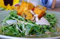 9 Winter Salads To Warm You Up Tonight: Roasted Butternut and Leek Warm Winter Salad