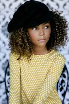 This kids got style.  Girls fashion and street style.  Kids clothes
