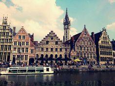 Gent in Oost-Vlaanderen, Oost-Vlaanderen