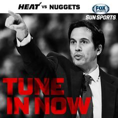Erik Spoelstra led Heat win Nuggets