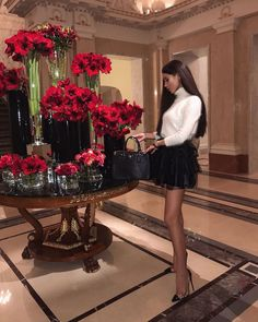 """Luxury life on Instagram: """"Classy 🖤"""" Mode Outfits, Fashion Outfits, Womens Fashion, Fashion Trends, Heels Outfits, Fashion Heels, Fashion Hair, Girl Fashion, Elegantes Outfit Frau"""