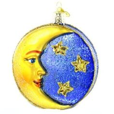 Amazon.com - Old World Christmas Man in the Moon Ornament - Whimsical Christmas Ornaments