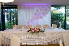 Dekoracje weselne Edan-Art, Kwiaty do ślubu warmińsko-mazurskie. Hotel Park Olsztyn  #wesele #slub