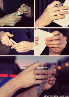 Is it weird to say that someone has nice hands? Oh well, who cares. Tom Hiddleston has nice hands.