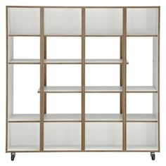 Buy House by John Lewis Newbury Room Divider from our Bookcases, Shelving Units & Shelves range at John Lewis & Partners. Room Divider Shelves, Display Shelves, Modular Shelving, Adjustable Shelving, Room Deviders, Retail Interior, Well Thought Out, Room Interior Design, Solid Oak