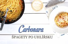 špagety carbonara Toast, Tacos, Pizza, Soup, Yummy Food, Baking, Ethnic Recipes, Bread Making, Delicious Food