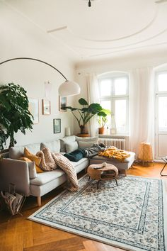 size rug for living room living room ideas room interior design living room living room ideas living room room curtains decor ideas for living room Boho Living Room, Cozy Living Rooms, Warm Colours Living Room, Carpet In Living Room, Grey Couches Living Room, Living Room Lamps, Living Room White Walls, Living Room Colour Design, Danish Living Room