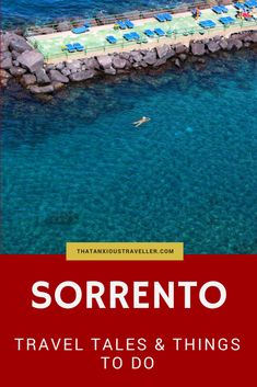Get my top tips for Sorrento, a beautiful town in Italy which I know very well! And even better, read the story of my day there, with inspirational views, good food, fabulous shopping, and cranky restaurant owners. Get inspired to travel to Italy! #italy #travel #sorrento #food https://thatanxioustraveller.com