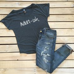 Adult-ish tee shirt