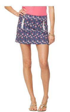 Lilly Pulitzer Tate Skirt...love the zippers and this print