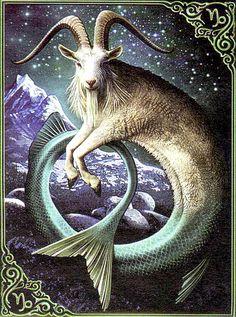 AstroSpirit / Capricorn ♑ / Earth / The Goat / Capricorne by Eric Williams