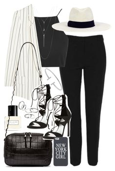 """Outfit for work"" by ferned on Polyvore featuring Topshop, Marc Jacobs, Chloé, Stuart Weitzman, Opening Ceremony, ALDO, Humble Chic, Hat Attack and MANGO"