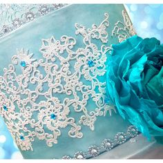 Paradise Lace Mat by Crystal Candy