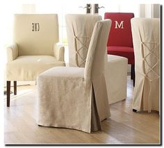 Pottery Barn Dining Room Chairs Slipcovers - Dining Room Ideas