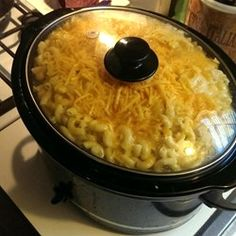 """Slow Cooker Mac and Cheese 
