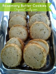 rosemary butter cookies