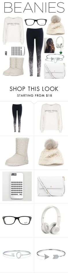 """""""Beanies"""" by shelby-fields ❤ liked on Polyvore featuring Wildfox, UGG, SIJJL, Tory Burch, Ray-Ban, Beats by Dr. Dre, Tiffany & Co. and Bling Jewelry"""