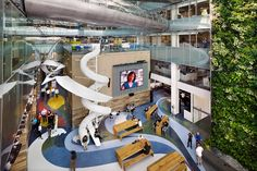 Photos: 7 Amazing Offices to Work In (It's not a mall! It's Corus Quay's offices in Toronto)