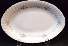 Syracuse China Sweetheart Very Large Oval Serving Platter 16 RARE