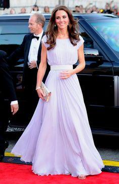 Bafta 2011 - Kate Middleton, dress by McQueen