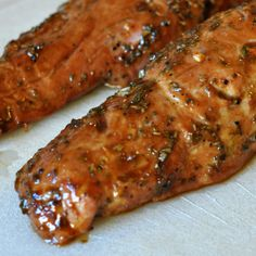I know what you are thinking, that is a pretty big name for a pork tenderloin recipe. But this recipe really did result in the best pork tenderloin I have ever had in my life! (And I have eaten pork tenderloins, prepared in many different ways in my lifetime.) The flavors from the marinade are…