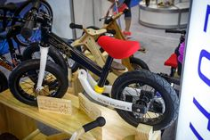 For the kid...  Rear Suspension Kid Balance Bike - 2013 Taipei Bike Show Day 3 - 2014 Bikes & Parts! - Mountain Biking Pictures - Vital MTB