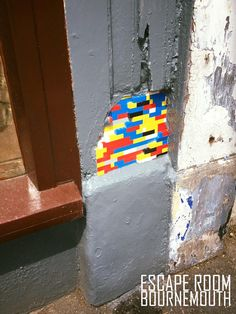 Lego Wall Artwork at  Escape Room Bournemouth