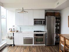 want to look into a tall narrow fridge?!
