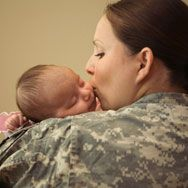 Single moms in the military.. we can do it.