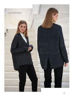 Jacket Cotton-Merino by Fil Katia
