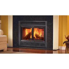 "Majestic Fireplace Monarch 36"" Clean-Burn Heat Circulating Wood Burning Fireplace"