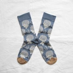 "Bonne Maison Socken ""Storm Blue Heads"", Kollektion ""Olympe"" (ca. 18€)"