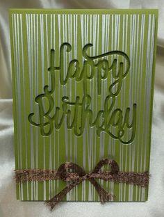 Use vellum sheet Bday Cards, Birthday Cards For Men, Handmade Birthday Cards, Making Greeting Cards, Greeting Cards Handmade, Masculine Birthday Cards, Masculine Cards, Embossed Cards, Cricut Cards