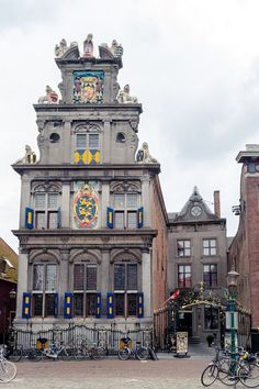 The beautiful city of Hoorn in Holland.  Read what you need to know about Holland before you visit the Netherlands with insider tips from a resident on travel in the Netherlands! #netherlands #holland #hoorn #travel