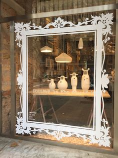 "POTTERY IS THE NEW WHITE, Barcelona, Spain, ""Things Look Better Framed"", pinned by Ton van der Veer"