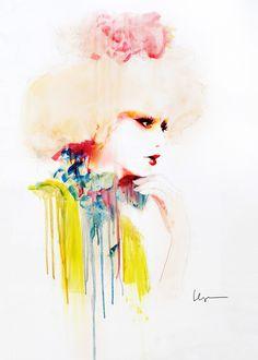 A l'instar de l'Espagnol Jordi Labanda ou encore de la Britannique Cate Parr, des Américains David Downton, Eduard Erlikh, les stars incontestées dans le domaine de l'illustration de mode, Floyd Grey manie lui aussi à la perfection ses pinceaux pour mettre en images la mode dans tou
