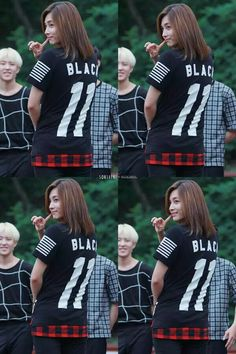 Jeonghan - Seventeen  I love his hair ♥