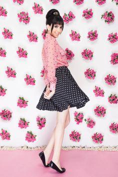♥ #fashion #Audrey #quiquiriqui #dots #style