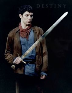 Just finished series 3 and Merlin is so hot while wielding Excalibur and I mean that in every innuendo possible.