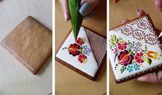 Девушка украшает печенье удивительно красивыми рисунками (8 фото) » Картины, художники, фотографы на Nevsepic