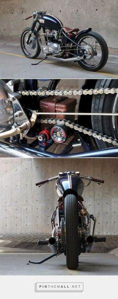 Admirable Triumph Bonneville Bobber Motorcycle 58