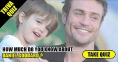 """Check out """"Trivia Quiz: How Well Do you Know Daniel Goddard?"""""""