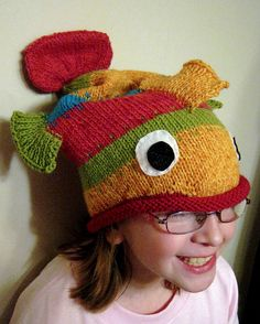 The fish hat.