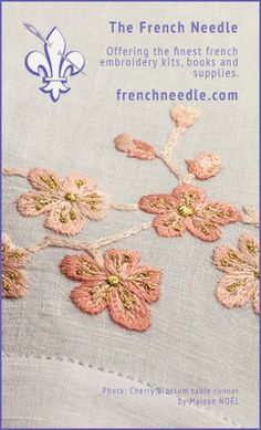 Various hand embroidery stitching videos! Super helpful!