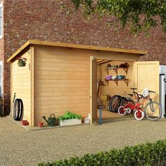 New Shed Plans - CLICK THE PICTURE for Lots of Shed Ideas. #shed #woodshedplans