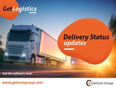 GetLogistics It is always nice to know where your shipment currently is, whether the items have al Keep Track, Wasting Time, Tanzania, Transportation, Innovation, Software, Delivery, Touch, Technology